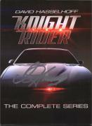 David Hasselhoff Knight Rider Autographed Complete Seasons DVD Set