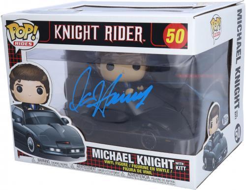 David Hasselhoff Knight Rider Autographed Funko Pop!