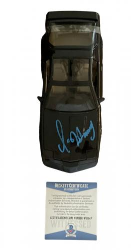 David Hasselhoff Signed Autograph  Kitt 1:24 Diecast Car - Knight Ride Beckett 3