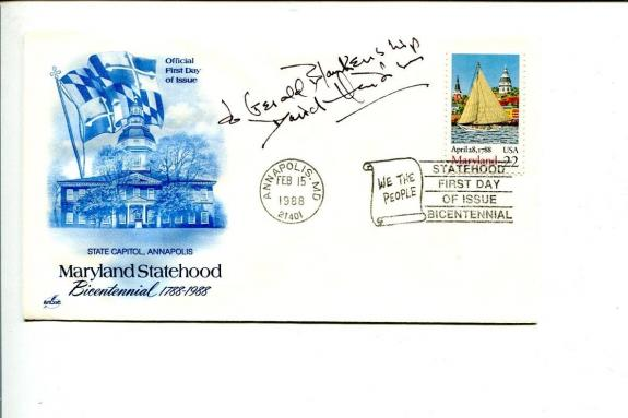 David Hedison James Bond Voyage to the Bottom of the Sea The Fly Signed FDC