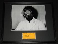 David Hedison Signed Framed 16x20 Photo Poster Display The Fly B