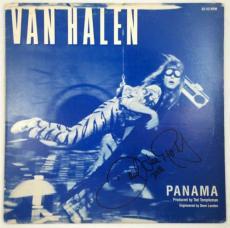 DAVID LEE ROTH Van Halen Panama Autographed Signed Album LP Record Certified JSA