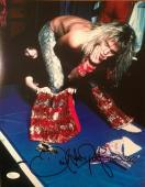 DAVID LEE ROTH (Van Halen) signed 11x14 photo-PERFECT Signature- JSA N029016