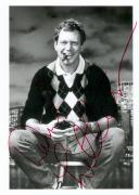 David Letterman autographed 7x8 Photo Image #1Z