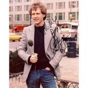 David Letterman Autographed Celebrity 8x10 Photo