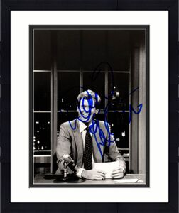 David Letterman Autographed Signed 8x10 B/W Photo AFTAL