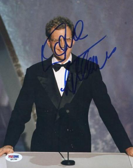 David Letterman The Late Show Signed 8X10 Photo PSA/DNA #Q51789