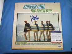 David Marks The Beach Boys Signed Surfer Girl LP Album PSA DNA COA Autograph