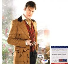 David Morrissey Signed 8x10 Dr. Who Jackson Lake PSA/DNA