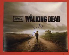 David Morrissey Signed Autographed 11x14 Photo The Walking Dead The Governor B