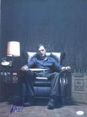 David Morrissey Signed 'the Walking Dead' 12x16 Photo Autograph Jsa Coa