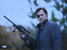 """David Morrissey Signed 'the Walking Dead' 12x16 Photo """"the Governor"""" Jsa Coa"""