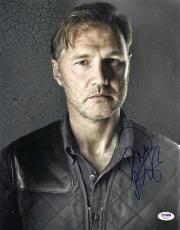 David Morrissey The Walking Dead Signed 11X14 Photo PSA/DNA #V20400
