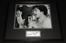 David Naughton Signed Framed 16x20 Poster Display American Werewolf in London D