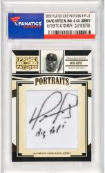 David Ortiz Boston Red Sox Autographed 2005 Donruss Prime Patches #P-5 Card with Big Papi Inscription & Game Used Jersey Piece