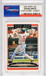 David Ortiz Boston Red Sox Autographed 2006 Topps #423 Card