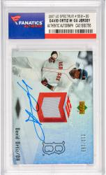 David Ortiz Boston Red Sox Autographed 2007 Upper Deck Spectrum #SSW-DO Card with Game Worn Jersey Piece