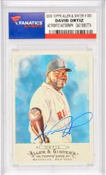 David Ortiz Boston Red Sox Autographed 2009 Topps Allen & Ginter #300 Card