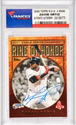 David Ortiz Boston Red Sox Autographed 2009 Topps Ring Of Honor #RH-98 Card