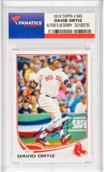 David Ortiz Boston Red Sox Autographed 2013 Topps #595 Card
