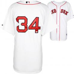 David Ortiz Boston Red Sox Autographed Majestic Authentic White Jersey