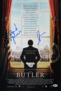 David Oyelowo & Lee Daniels The Butler Signed 12x18 Photo BAS #X71005
