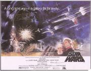 """David Prowse & Alec Guinness Star Wars: A New Hope Autographed 9"""" x 10.5"""" Calendar Print with """"Is Darth Vader"""" Inscription - JSA"""