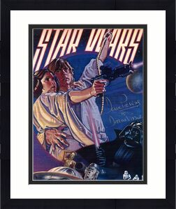 """DAVID PROWSE as DARTH VADER in the Original """"STAR WARS"""" Trilogy - Signed 8x10 Color"""