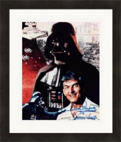 David Prowse autographed 8x10 photo (Darth Vader Star Wars 67) #1 Matted & Framed
