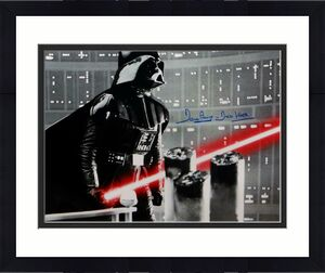 David Prowse Autographed Darth Vader 16x20 Star Wars Silver Photo- JSA W Auth *B