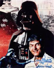 David Prowse autographed photo (Darth Vader Star Wars 67) size 8x10 image #1