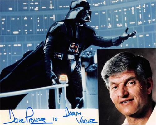 David Prowse autographed photo (Darth Vader Star Wars 67) size 8x10 image #2