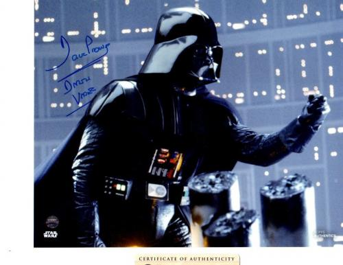 DAVID PROWSE AUTOGRAPHED SIGNED 8x10 PHOTO DARTH VADER INSCRIPTION STEINER COA