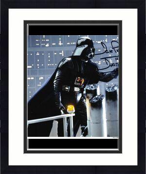 David Prowse Autographed Star Wars 8X10 Photo
