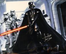 David Prowse Autographed/signed Darth Vader Star Wars 16x20 Photo 21178 Jsa