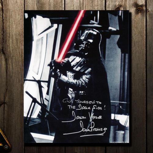 David Prowse Darth Vadar STAR WARS Dark Side Signed 8X10 Photo