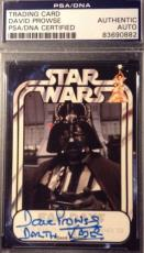 David Prowse Darth Vader AUTO Signed Autograph Official Pix PSA/DNA Star Wars