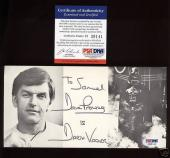 David Prowse Darth Vader Autographed Photo PSA/DNA MINT