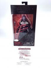 David Prowse Darth Vader Star Wars 6' Black Series Signed Autograph JSA COA