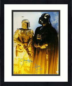 David Prowse & Jeremy Bulloch Autographed/signed Star Wars 16x20 Photo 21180 Jsa