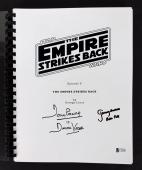 David Prowse & Jeremy Bulloch Signed Star Wars Movie Script BAS C58892