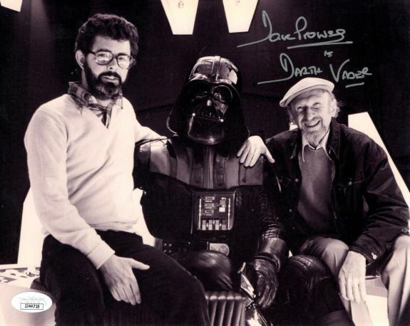 David Prowse Signed Autographed 8X10 Photo Star Wars Darth Vader JSA JJ44718