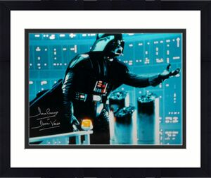 David Prowse Signed Darth Vader 16x20 Star Wars Blue Photo- JSA W Auth *Silver
