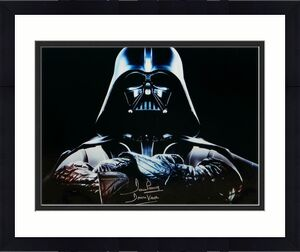 David Prowse Signed Star Wars 16x20 Darth Vader Arms Crossed Photo- JSA Auth *Si