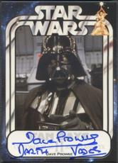 David Prowse signed Star Wars Darth Vader Fan Days II Card 2008