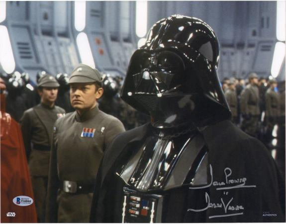 """David Prowse Star Wars Autographed 11"""" x 14"""" Photograph with """"Darth Vader"""" Inscription"""