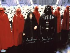 "David Prowse Star Wars ""Darth Vader"" Signed 10x13.5 Photo BAS #C58621"