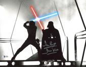 """David Prowse Star Wars """"Darth Vader"""" Signed 11X14 Photo BAS 1"""