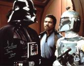 """David Prowse Star Wars """"Darth Vader"""" Signed 11X14 Photo BAS 10"""