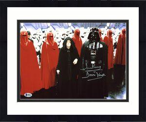 """David Prowse Star Wars """"Darth Vader"""" Signed 11X14 Photo BAS 2"""
